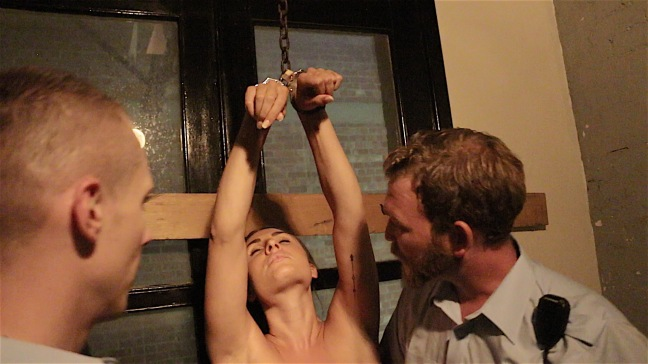 Impossible. inmate in handcuffs naked idea